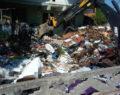 Evden 13 ton çöp çıktı