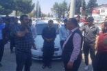 Urfa'da çiftçiler elektrik kesintilerini protesto etti