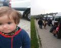 Durdurulan araçtan çok sayıda göçmen çocuk çıktı