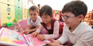 Okul öncesi eğitimi hiç almamış çocuklar için ücretsiz eğitim