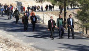 Öğretmenler doğa ve sağlık için yürüdü