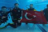 Belediyeden personellerine tüplü dalış eğitimi verildi