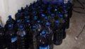 4 bin 100 litre kaçak şarap ele geçirildi