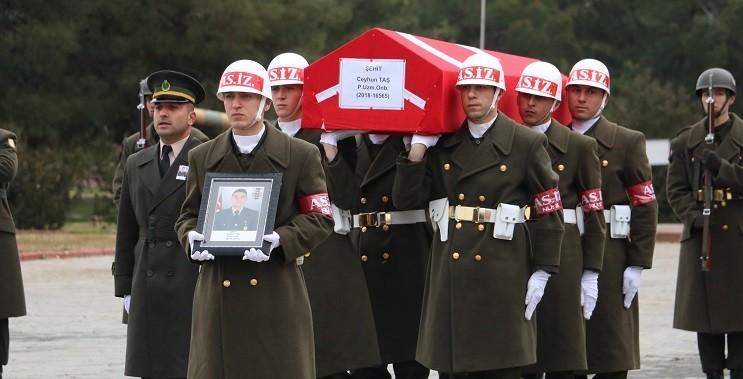 Barış Pınarı şehidi törenle memleketine uğurlandı