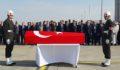 Şehit olan uzman çavuş'un cenazesi, memleketine uğurlandı