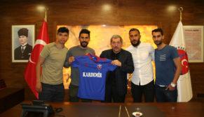 Karabükspor Futbolcularından Vergili'ye Ziyaret