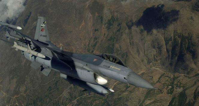 Bakanlık açıkladı! F-16'lar Suriye sahasında