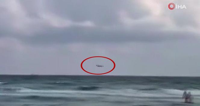 İspanya'ya ait askeri jet Akdeniz'de düştü