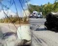 1 kişinin öldüğü feci kaza kameraya böyle yansıdı