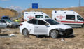 Sivas'ta otomobiller çarpıştı: 6 yaralı