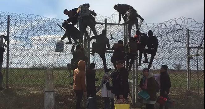 Göçmenler Sınırı böyle geçiyor