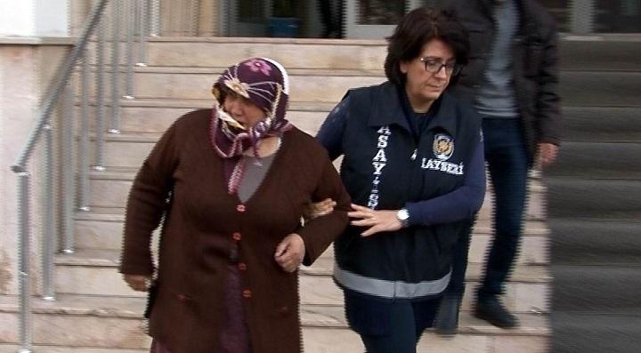 62 yıl 5 ay kesinleşmiş hapis cezası bulunan kadın yakalandı