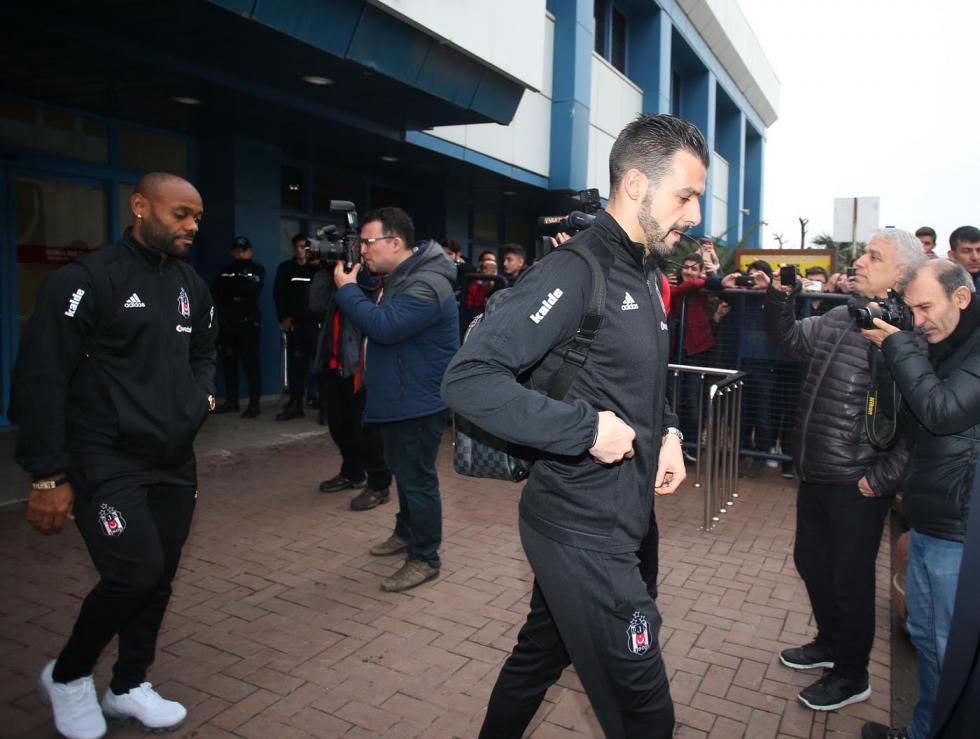 Beşiktaş zorlu Trabzonspor deplasmanında