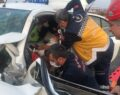 Urfa-Mardin yolunda kaza: 2 yaralı