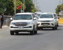 Türk askeri yetkililer, ABD'li heyetle görüşmek için Akçakale'de