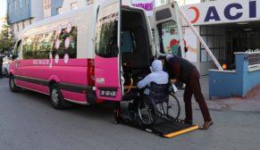 Büyükşehir'den engellilere ücretsiz ulaşım kolaylığı