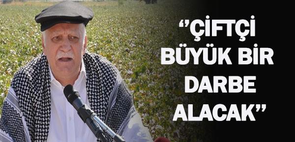 Bayraktar'dan çiftçilere destek