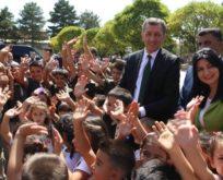 Bakan Selçuk, okul zili ve şarkısını tanıttı