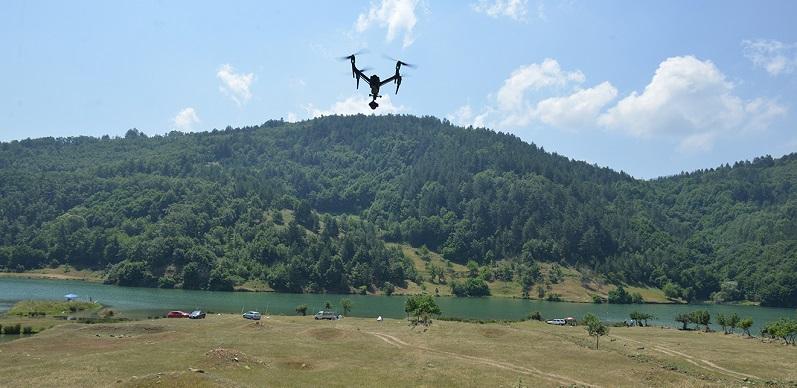 Barajlar drone ile kontrol altında