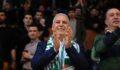 Bozbey, Bursaspor Durmazlar'ın galibiyet sevincine ortak oldu