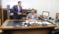 Başkan Kuş, Müdür Hamcan'dan brifing aldı
