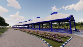 Eyyübiye'ye 1600 metre karelik kapalı semt pazarı
