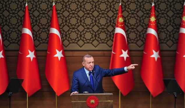 """""""Barış Pınarı Harekatı ile tam manasıyla takke düşmüş kel görünmüştür"""""""