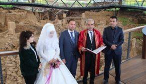 Göbeklitepe'de evlendiler