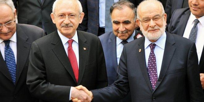 Kılıçdaroğlu ve Karamollaoğlu'ndan ittifak görüşmesi