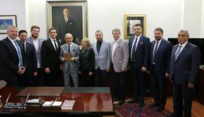 Kızılay'dan Büyükerşen'e ziyaret