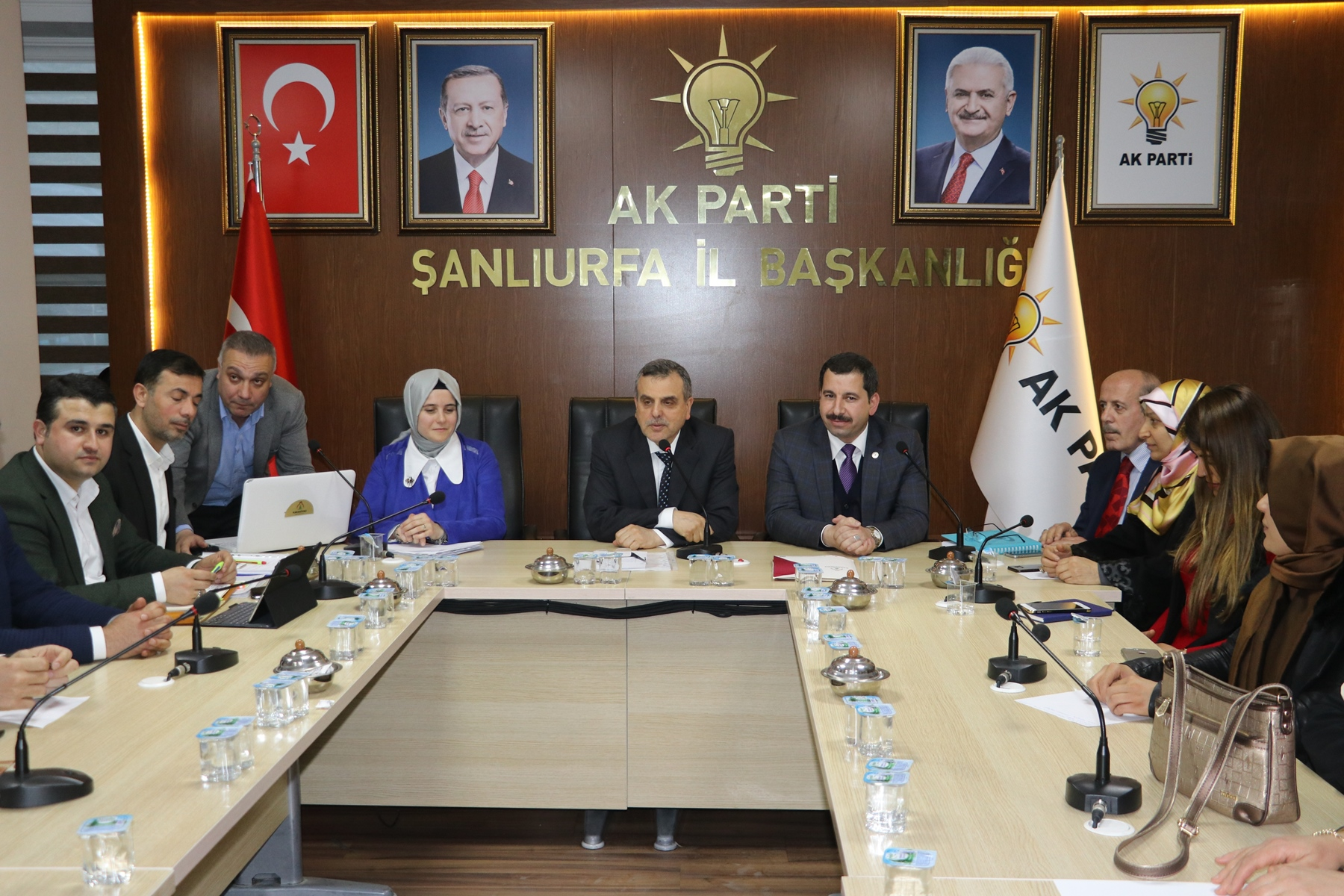 Başkan Baydil'li Ak Parti İl Yönetimine Çalışmalarını Anlattı