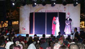Karaköprü'de kavuklu ile pişekar tiyatro oyunu