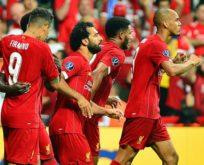 UEFA Süper Kupa'nın sahibi Liverpool oldu