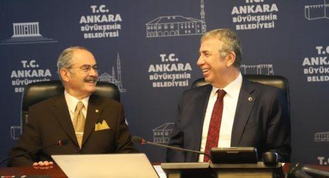 Başkanlar Mansur Yavaş'ı ziyaret etti