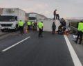 İki araç çarpıştı: 1 ölü, 6 yaralı