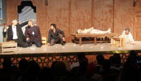 Büyükşehir Belediyesi Şehir Tiyatrosu sezonun ilk oyununu sergiledi