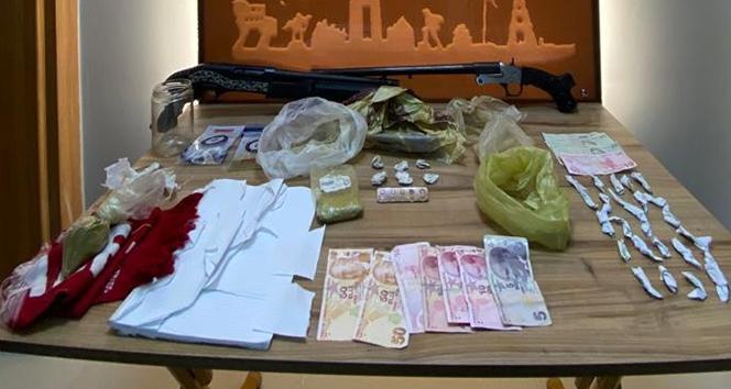 Uyuşturucu operasyonu: 20 gözaltı