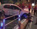 Şanlıurfa Abide kavşağında trafik kazası