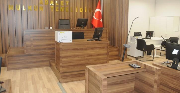İstanbul Havalimanı'nda bir ilk,adliye binası hizmete girdi