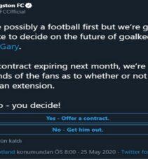 Premier Lig oyuncusunun kaderi Twitter'a bağlı