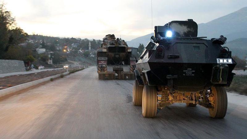 Ağrı'da zırhlı araç devrildi: 9 asker yaralı