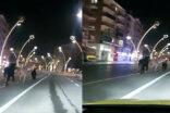 Boş caddeler atlara kaldı