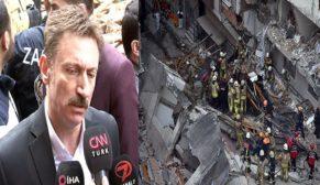 Belediye Başkanı'ndan çöken binaya ilişkin açıklama