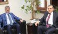 Bakan Yardımcısı Bağlı'dan belediye'ye ziyaret