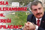 Bakan Koca'dan Urfa'da şiddete uğrayan doktor ile ilgili açıklama