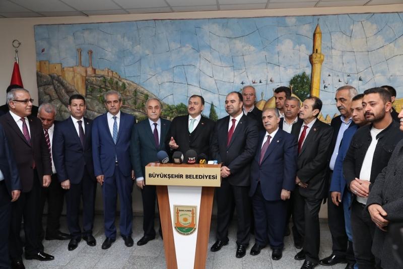 Eroğlu: Şanlıurfa'ya 35 milyar lira yatırım yapıldı