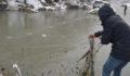 Eksi 18'de balık tutma mücadelesi