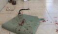 Balkonda oturan kadına bıçaklı saldırı
