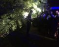 Araç baraja uçtu: 5 kişiden 4'ü kayıp
