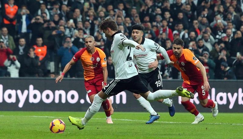 Derbi'nin galibi Beşiktaş